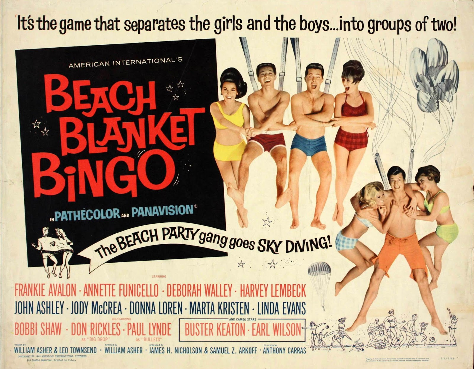Beach Blanket Bingo!